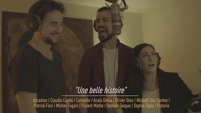Une belle histoire Love Michel Fugain teaser TrailersTeasers