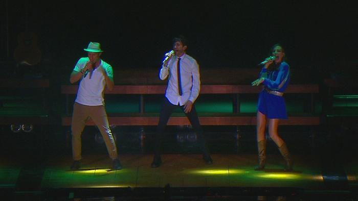 Baile del Sapo The Time Wrap En Vivo Desde el Auditorio Nacional