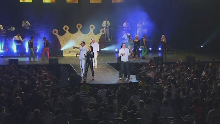 The Happy Days Medley Live at Grand West Casino Cape Town 2013 Live