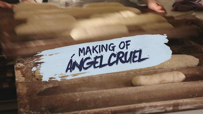 Ángel Cruel Detrás de Cámaras