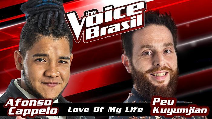 Love Of My Life The Voice Brasil 2016  Audio