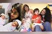 Sara Afreen With Childrens