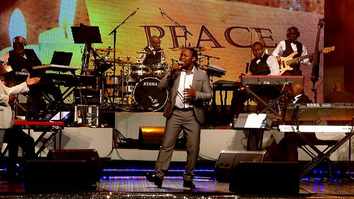 O Tshepo Yaka Live at Rhema Ministries  Johannesburg 2013