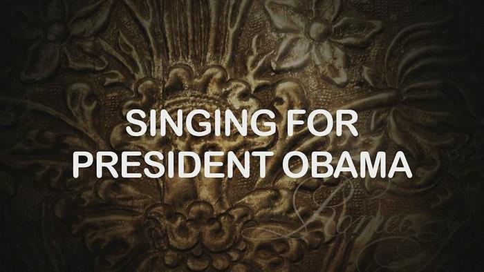 Formula Vol 1 Interview English Singing for President Obama Album Interview