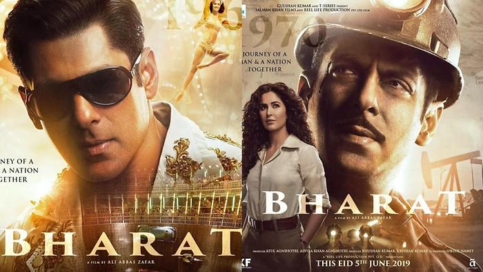 Download Bharat Third Poster Katrina Kaif Makes An Entry; Salman Sports A  Moustache Video Song from SpotboyE Hindi :Video Songs – Hungama
