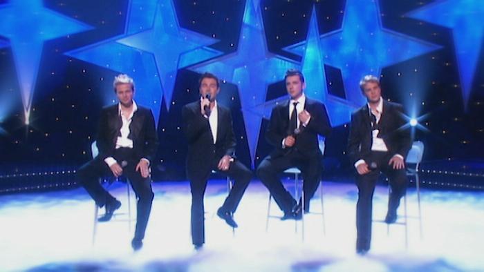 White Christmas ITV Live 2004