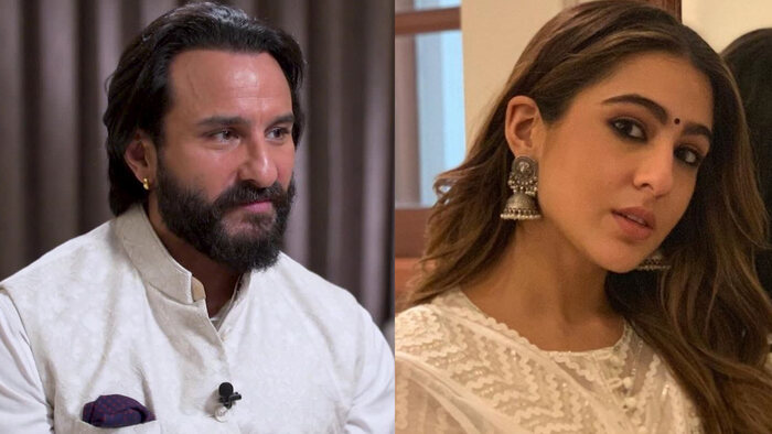 Saif Ali Khan Worried For Sara Ali Khan