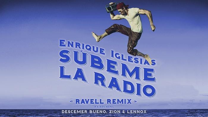 SUBEME LA RADIO Ravell Remix Lyric Video