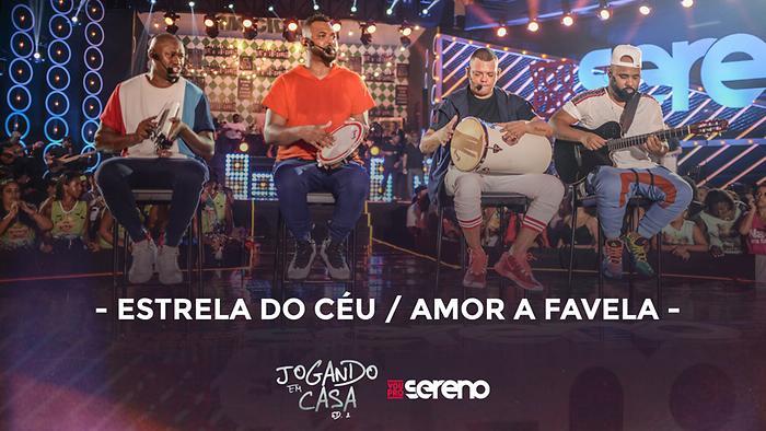 Estrela do Céu  Amor a Favela Ao Vivo