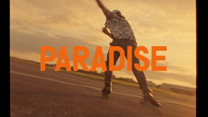 Paradise High Contrast Remix  Visualiser