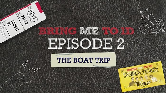 BRING ME TO 1D THE BOAT TRIP