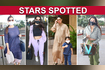 Kareena Flaunts Huge Baby Bump With Taimur - Dia Mirza,Nora Fatehi,Malaika Snapped at Airport