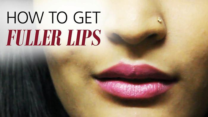 How To Get Fuller Lips Under 5 Minutes BLUSH
