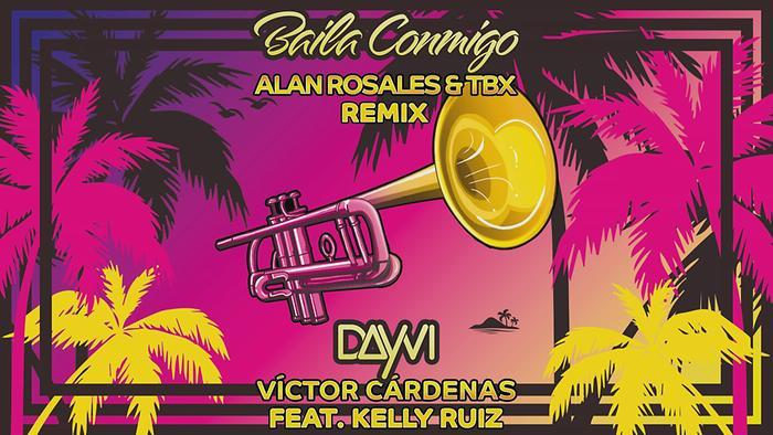 Baila Conmigo Alan Rosales  TBX Remix  Cover Audio