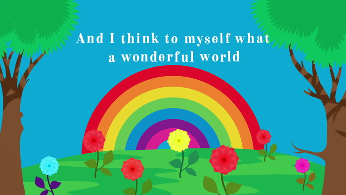 What a Wonderful World Official Lyric Video