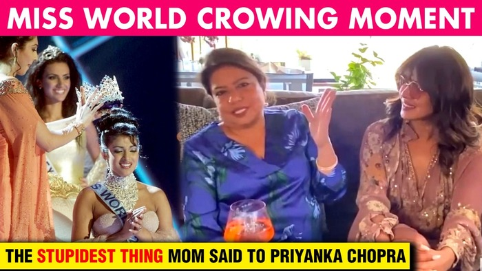 Priyanka Chopras Reveals THE STUPIDEST THING Her Mom Asked After Miss World Crowning Moment