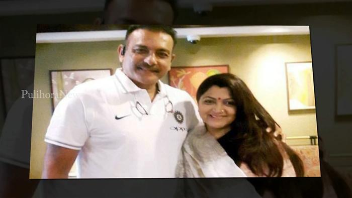 Kushboo Meets Her 'Hero' After 33 Years