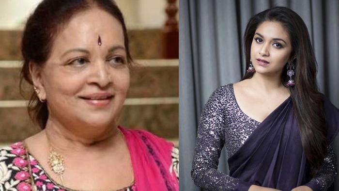 Keerthy Suresh To Play Vijaya Nirmala In Biopic