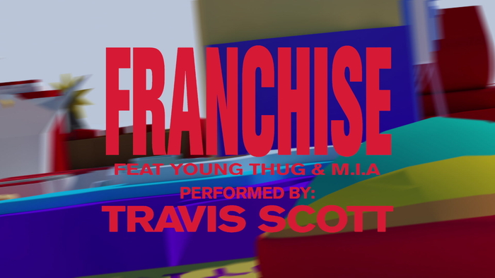 FRANCHISE Official Visualizer