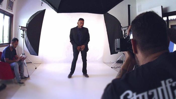 Sessão de Fotos Making Of Videoclipe