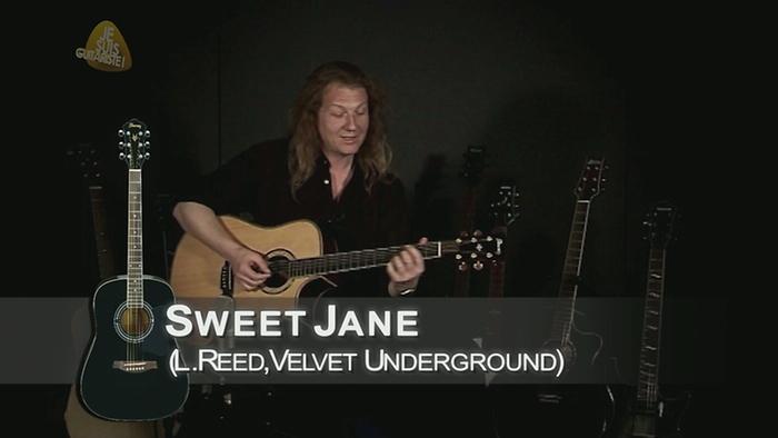 Sweet Jane rendu célèbre par The Velvet Underground