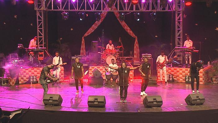 Dagrou Live au palais de la Culture dAbidjan 2018