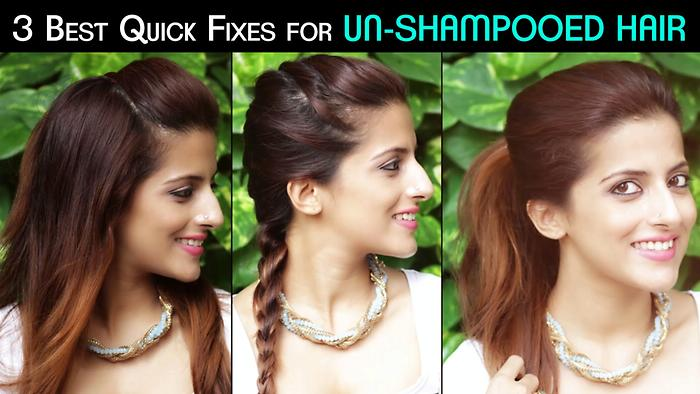 3 Best Quick Fixes For Oily Greasy Hair