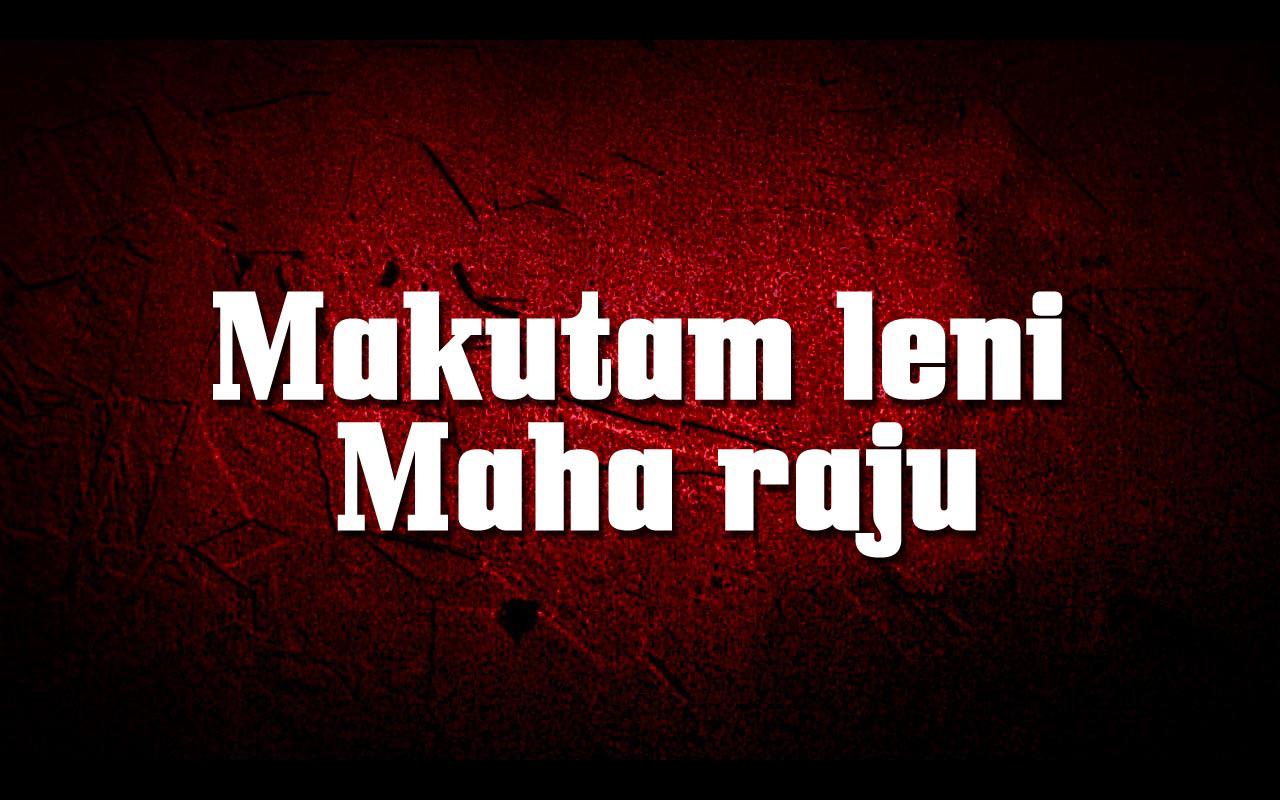 Makutamleni Maharaju