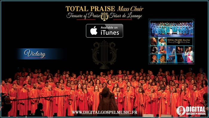 Total Praise Mass Choir  Victory Video Cover