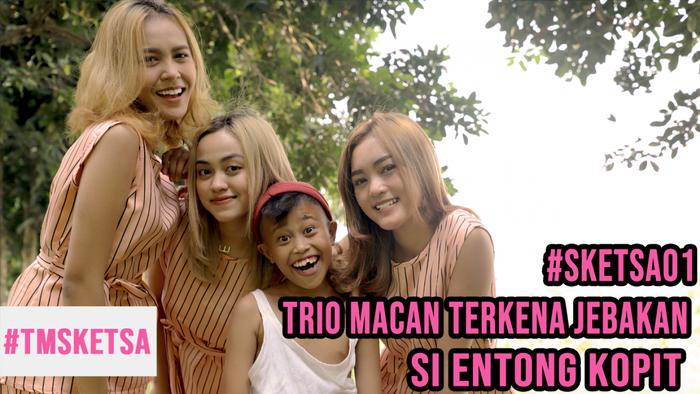 Trio Macan Terkena Jebakan Si Entong Kopit Sketsa01