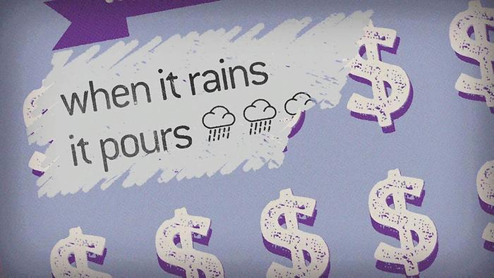 When It Rains It Pours Lyric Video
