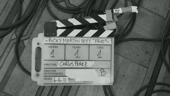 Frío Behind The Scenes