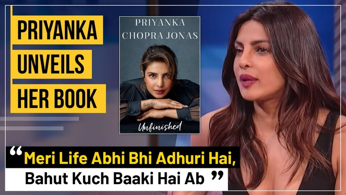 Priyanka Chopra Jonas Finally Releases Her Memoir Unfinished