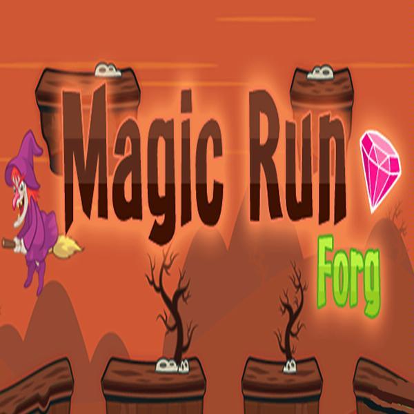 Magic Run Frog