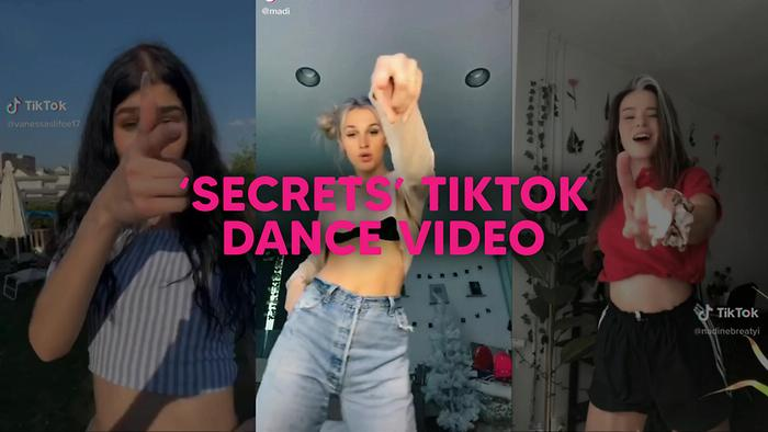 Secrets Tiktok Official Video