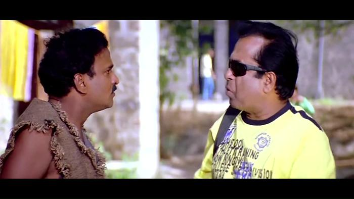 Brahmanandam Beggar Attack Comedy Scene