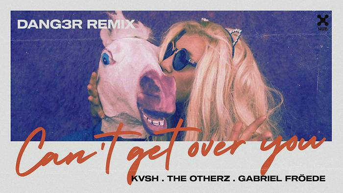 Cant Get Over You Dang3r Remix Áudio Oficial