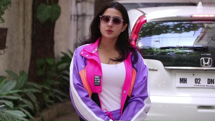 Sara Ali Khan Spotted At Sunny Super Sound Juhu