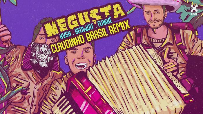 Me Gusta Claudinho Brasil Remix Áudio Oficial