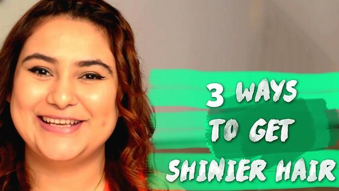 3 Ways To Get Shinier Hair