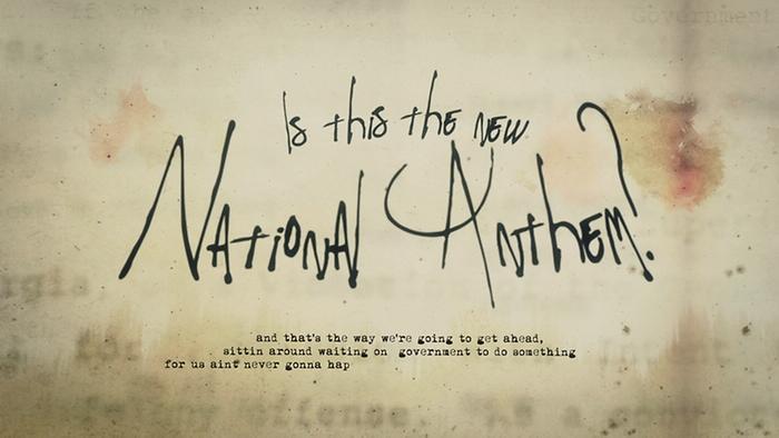 New National Anthem Lyric Video