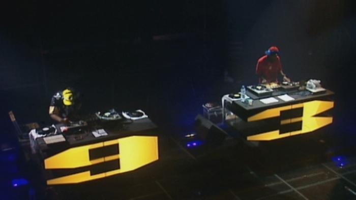 Show DJ Live au Zénith de Paris 1998