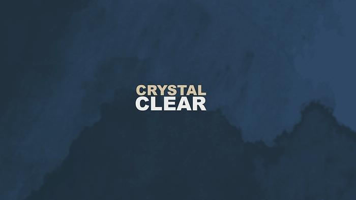 Crystal Clear Lyric Video