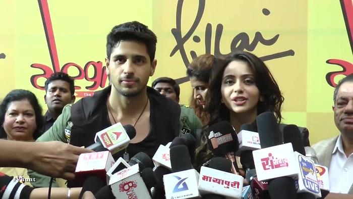 Sidharth And Rakul About Aiyaary Promotional Song