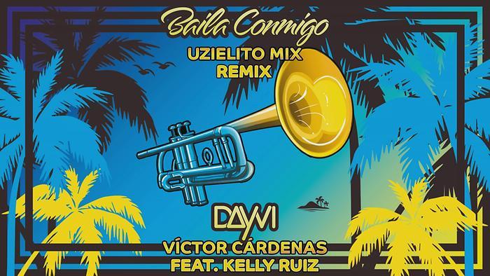 Baila Conmigo Uzielito Mix Remix  Cover Audio