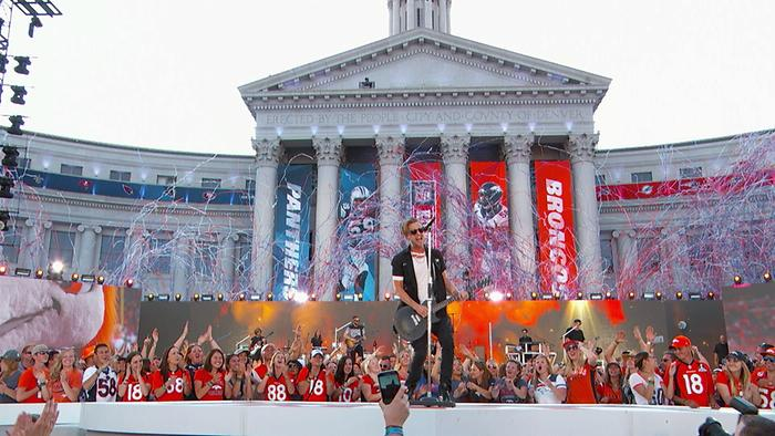 Kids LIVE From NFL Kickoff At The Colorado State Capitol
