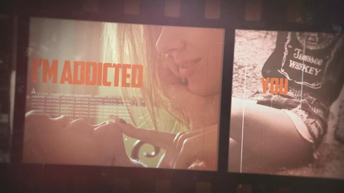 Addicted To You Lyric Video