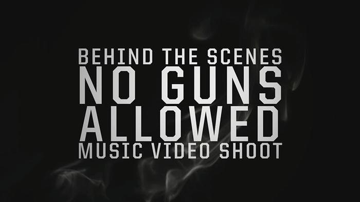 No Guns Allowed  Behind the Scenes