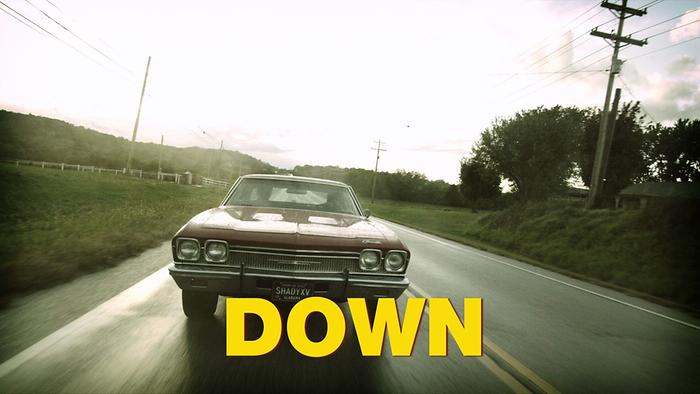 Down Lyric Video