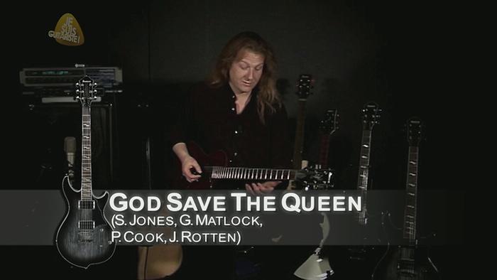 God Save the Queen rendu célèbre par les Sex Pistols